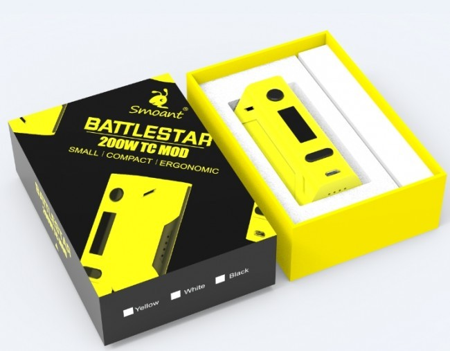 BATTLESTAR BATTLE STAR SMOANT | MOD VAPE ROKOK ELECTRIC VAPING VAPOR .