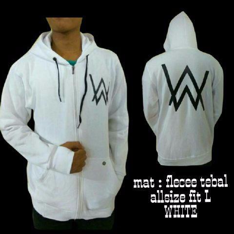 Jaket sweater alan walker/sweater dj alan walker/sweater zipper alan w