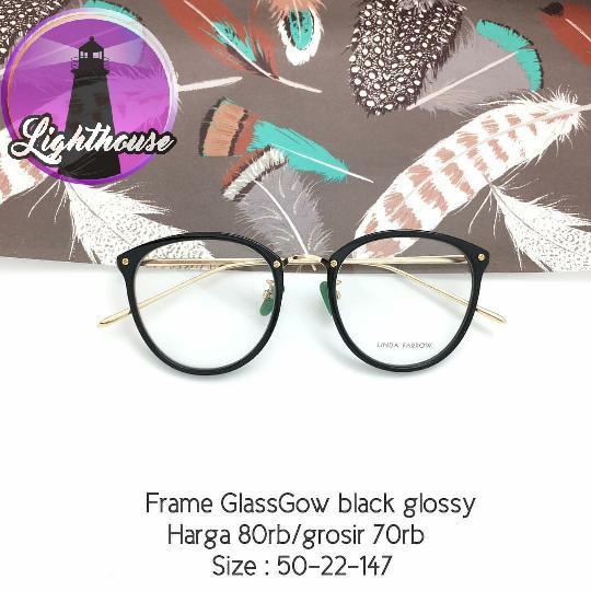 Frame Kacamata gaya fashion bisa ganti lensa minus baca cantik keren k 14cd172b0d