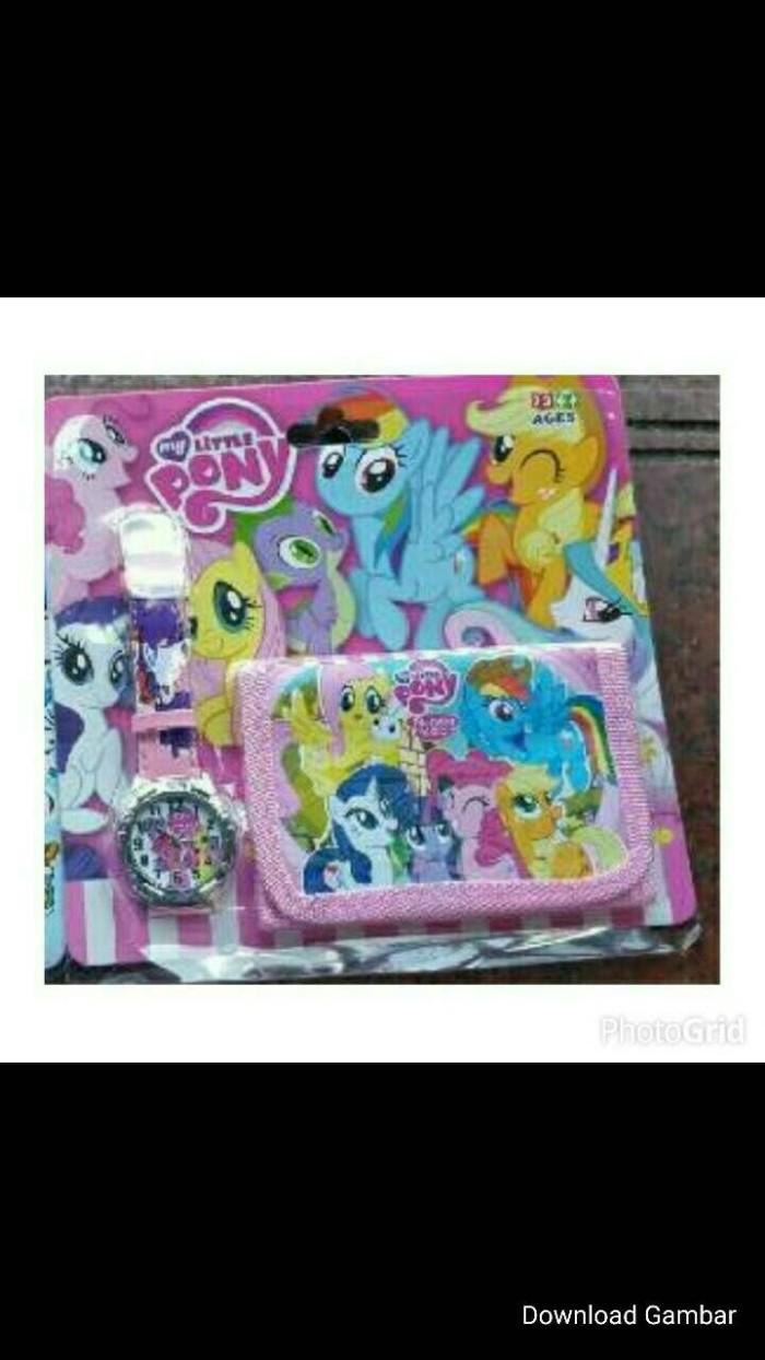 Jual Little Pony Jam Dompet Little Pony Jam Tangan Anak Jakarta Barat Osakahana