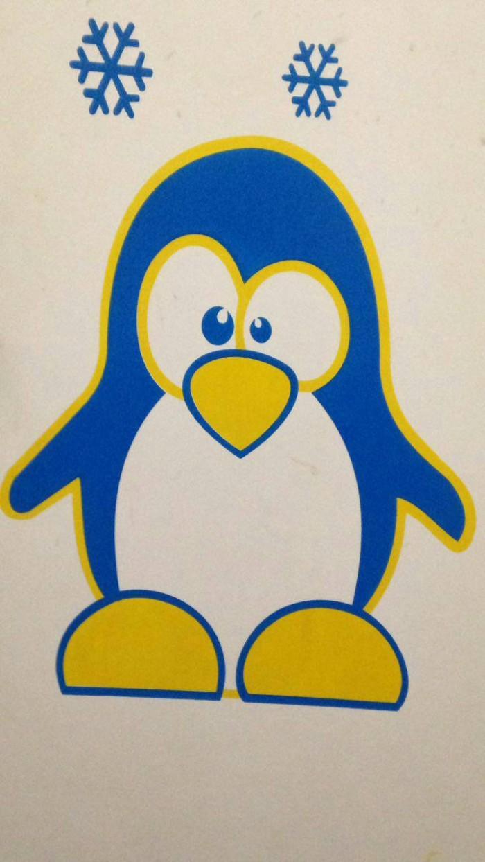 Jual Roll Cat Motif Pinguin Jakarta Timur Tfcollection2