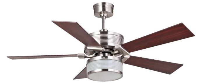 harga Mt edma 52in metro kipas angin plafon dekoratif lampu hias- coklat tua Tokopedia.com