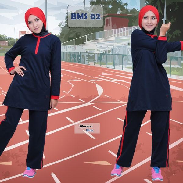 harga Baju olahraga muslim/baju senam muslim/stelan olahraga muslim/believe Tokopedia.com