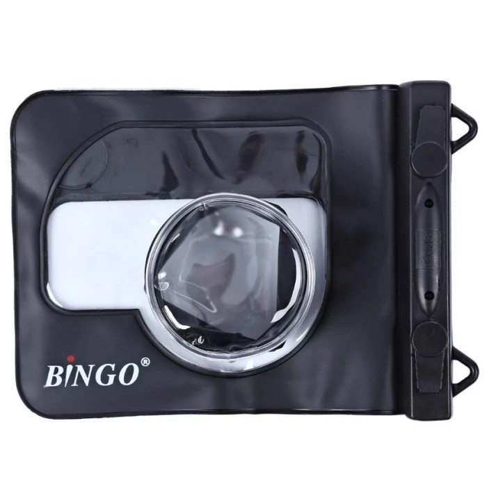 harga Bingo waterproof case for mirrorless - hitam - fit sony a5000/eos m10 Tokopedia.com