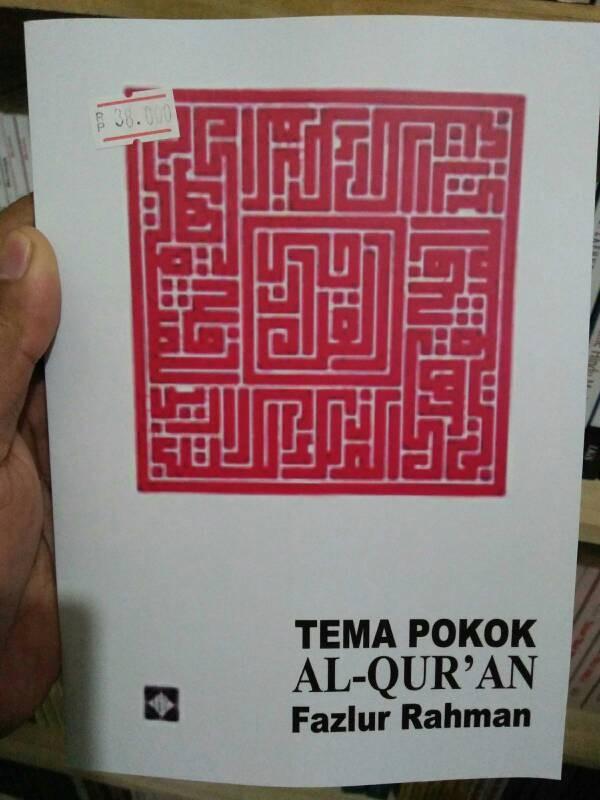 harga Tema pokok al-quran - fazlur rahman Tokopedia.com