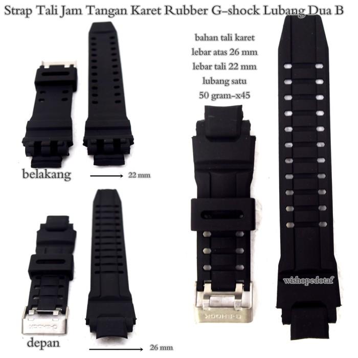 harga Strap tali jam terlaris karet rubber gshock lubang 2b Tokopedia.com