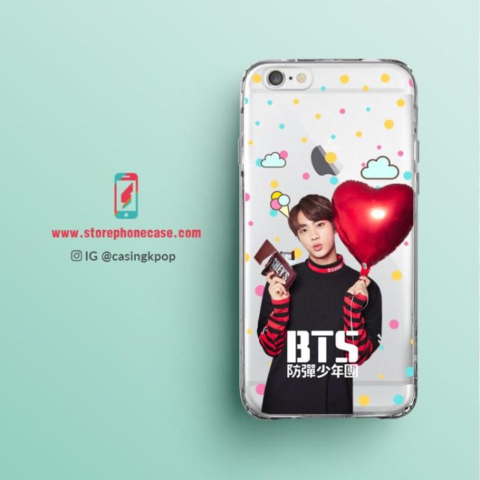 harga Casing handphone kpop transparant jin (bts) - puma clear Tokopedia.com