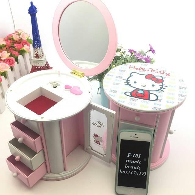 harga Kotak musik hello kitty edition / music box hellokitty model lemari Tokopedia.com