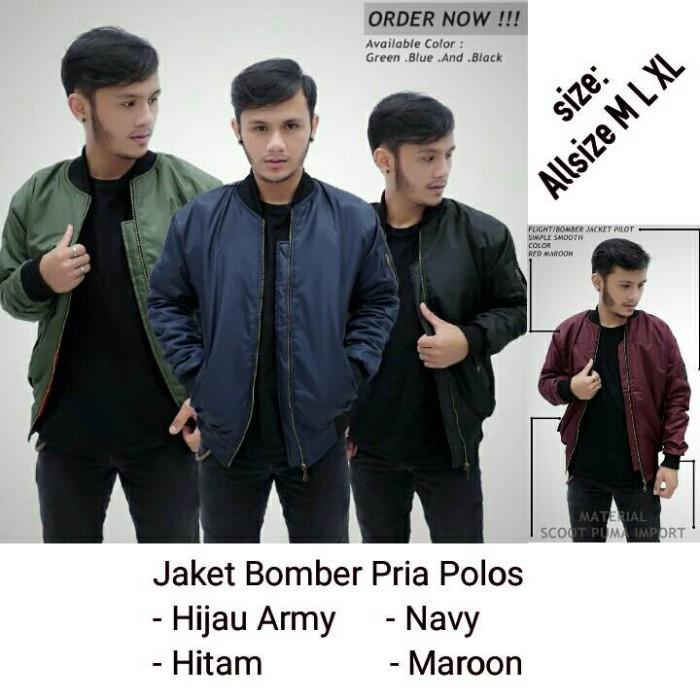 Os Jacket Bomber Hijau Army ...