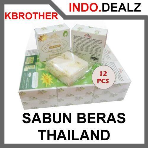 harga [promo] Sabun Beras Thailand K-brother (isi 12 Pieces) Original Tokopedia.com