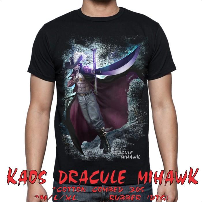 kaos anime one piece dracule mihawk