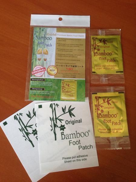 Koyo kaki Bamboo Gold Detox Foot Patch - Premium Quality (ORIGINAL)