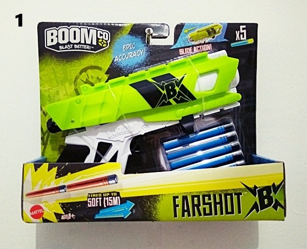 harga Mainan Anak Branded / Pistol Mainan Handgun Nerf Boomco Farshot Tokopedia.com