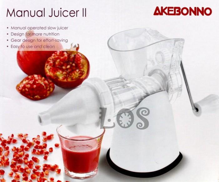 harga Slow juicer akebonno manual ii ks-0199z (00271.00008) Tokopedia.com