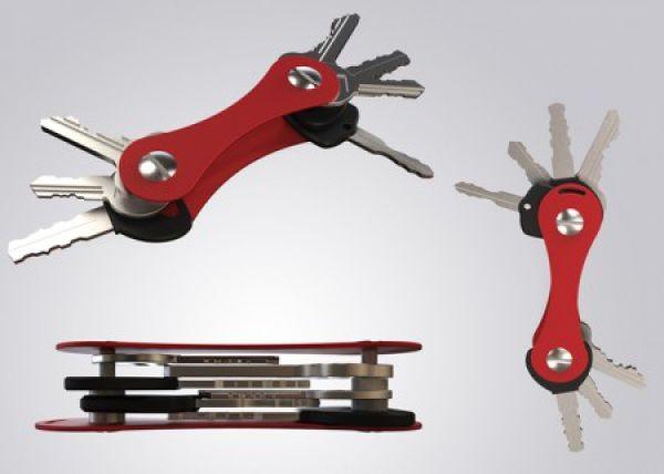 Unisex Smart Keyholder and Organiser for up to 12 Yale Keys Slim Design