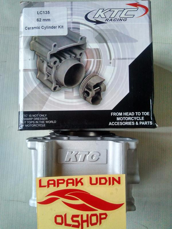 Jual Bore Up Kit/Cylinder Block Set Ceramic 62mm KTC Yamaha Jupiter Mx LC 1  - Kota Surakarta - LAPAK UDIN OLSHOP | Tokopedia