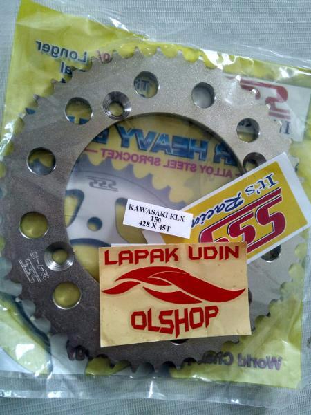 harga Gear belakang sss tebal 428x41/42/43/44/45t kawasaki klx 150/dtracker Tokopedia.com