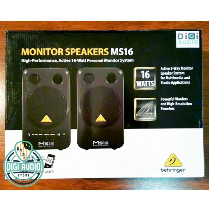 harga Behringer ms16 ( ms 16 ) speaker monitor 16 watt Tokopedia.com