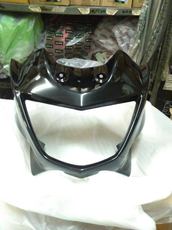 Batok barong lampu headlamp depan Ninja R hitam original Kawasaki