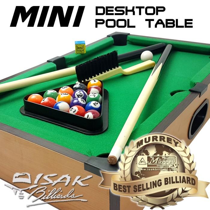 harga Mini desktop billiard pool table - mainan hadiah anak meja biliar mini Tokopedia.com
