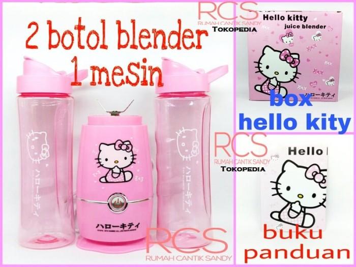 harga Shake and take blender hello kitty ~ helo kity ~ model 2 tabung Tokopedia.com