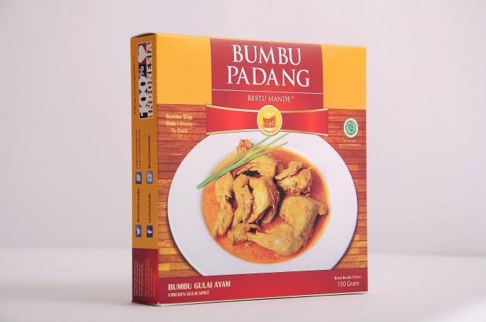 Foto Produk Bumbu Gulai Padang - Gulai Ayam, Ikan Patin, Otak, Cumi, Sayuran dari Rendang Padang Kemasan