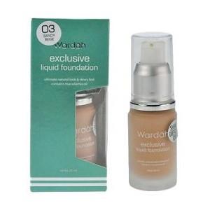 Wardah Exclusive Liquid Foundation (Original) - 03 Sandy beige - 20 ml