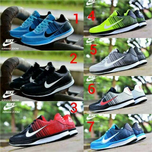 Foto Produk Sepatu Nike Zoom pria, sepatu running,sepatu joging pria dari hana shoes