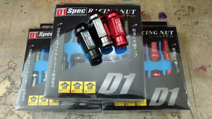 harga D1 Spec- Racing Lug Nut Baut Velg Mur Balap 1,5mm Tokopedia.com