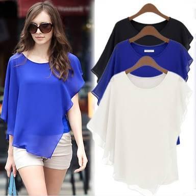 harga Blouse korean style woman korea wanita hem dress atasan baju pakaian Tokopedia.com