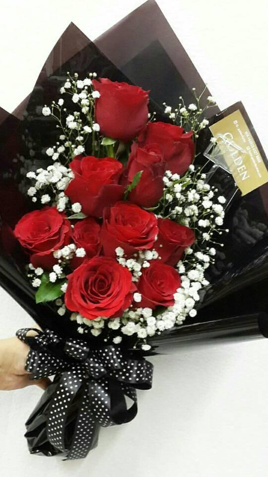 Jual Buket Bunga Mawar Segar Import Cocok U Hadiah Kekasih Bisa Cod Jakarta Barat Meiti Chandra Tokopedia