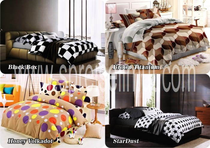 harga Sprei fata minimalis uk king/queen bahan katun microtex Tokopedia.com