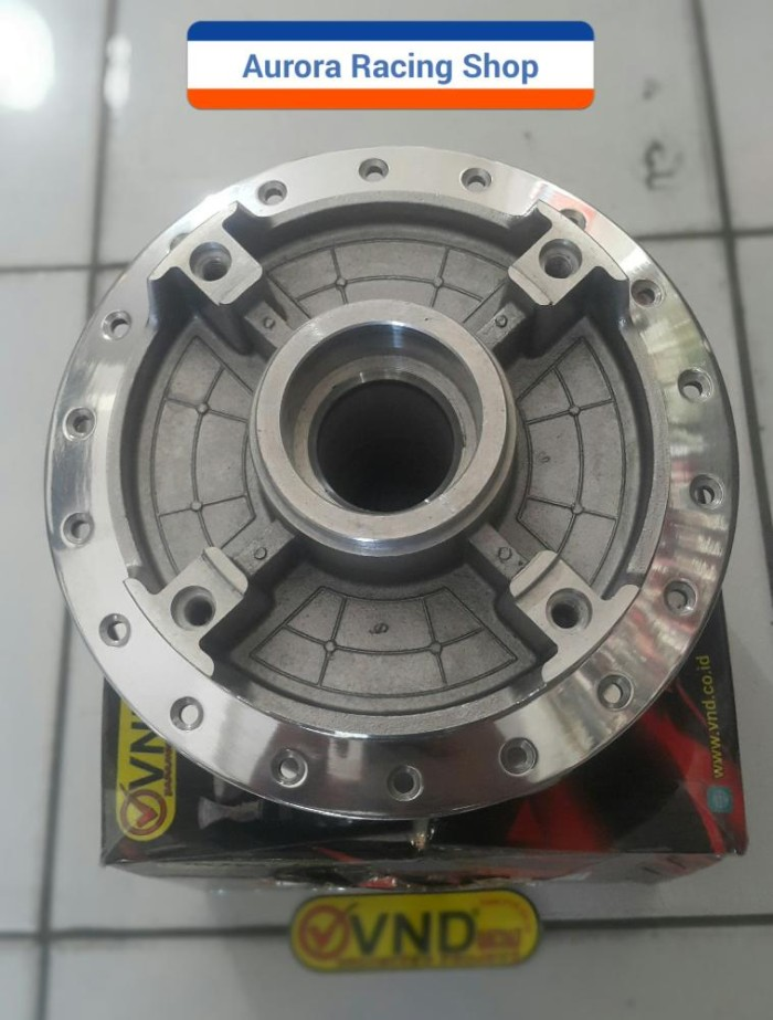 Tromol Belakang Tiger Revo Disk VND chrome polish