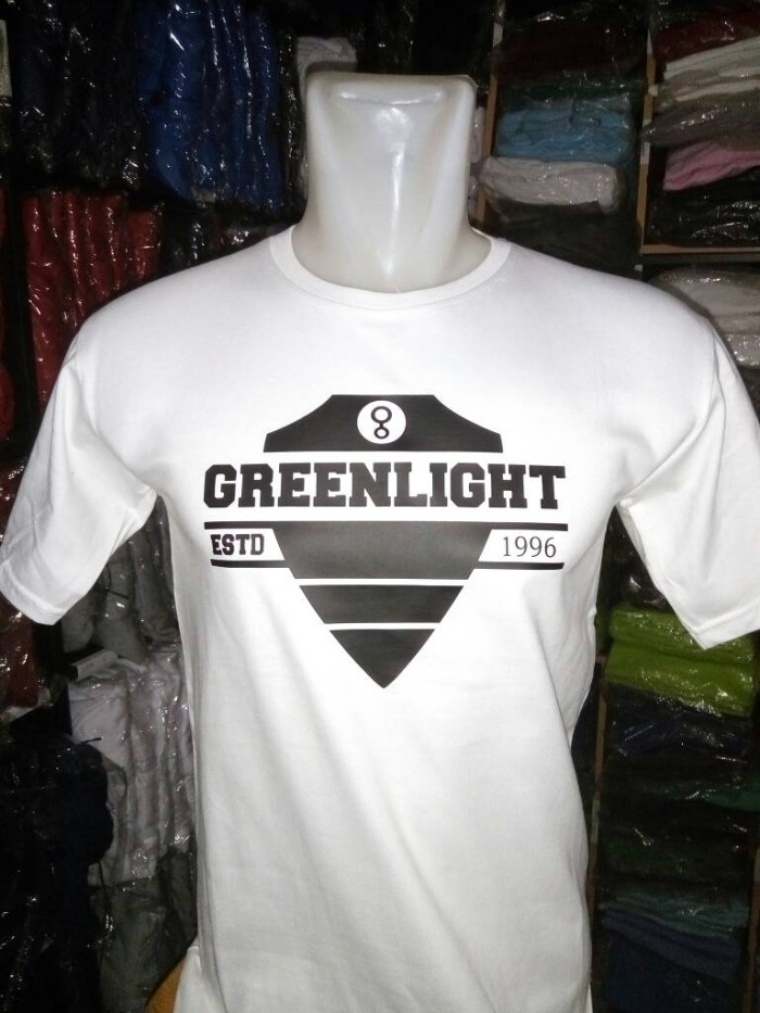 Best Seller kaos Baju T-shirt green light