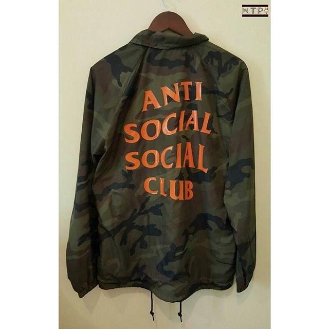 433a020181ed Jual Anti Social Social Club Camo Coach Jacket - Kota Administrasi ...