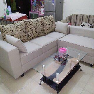 95 Gambar Desain Ruang Tamu Sofa L Paling Bagus