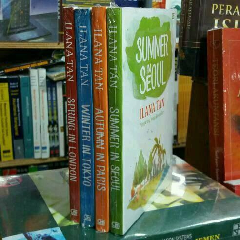 harga Paket 4 Novel Ilana Tan Tokopedia.com