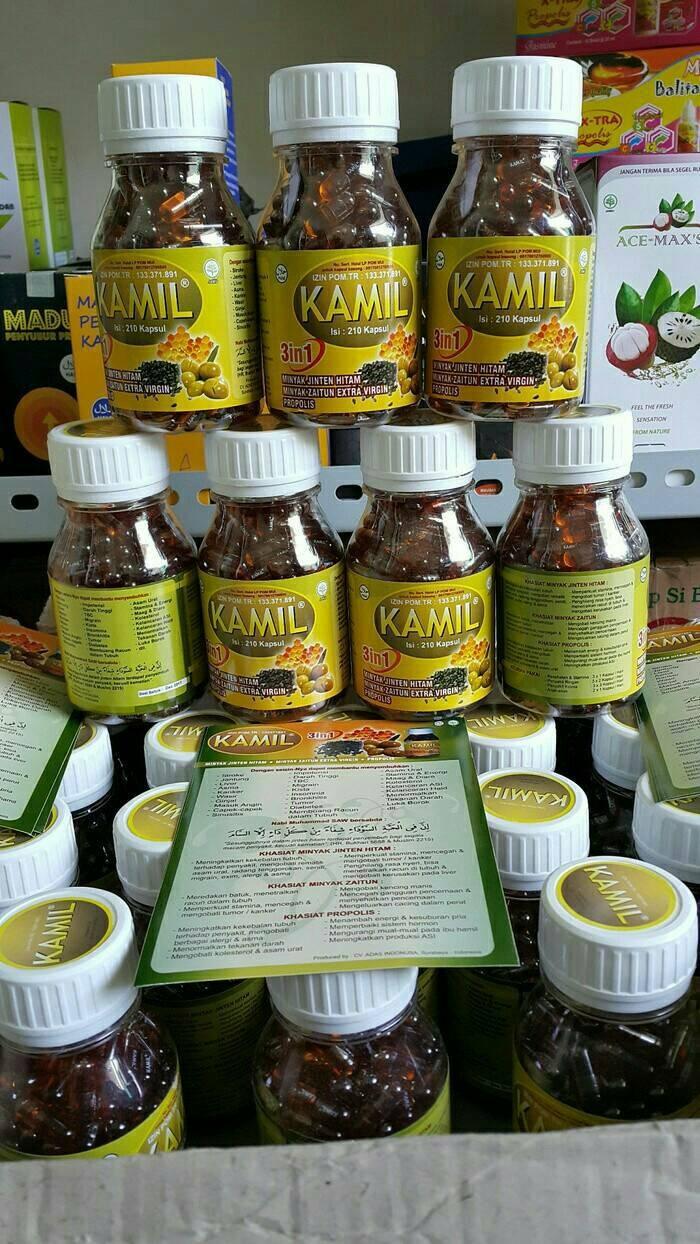 harga Kamil 3in1 ( minyak habbatussauda / jinten hitam + zaitun extra virgin Tokopedia.com