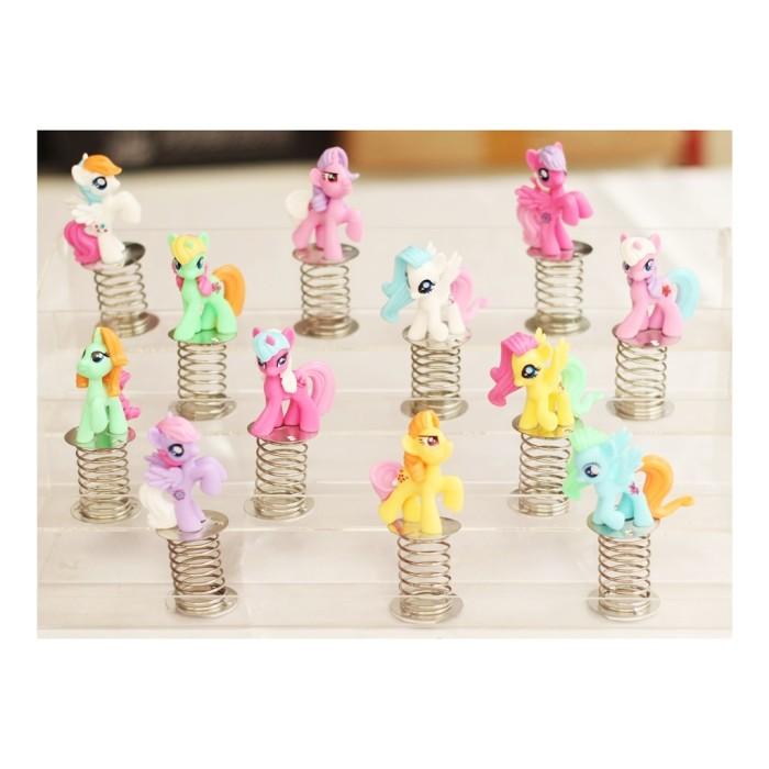 harga Miniatur my little pony spiral isi 12 (903801039) Tokopedia.com