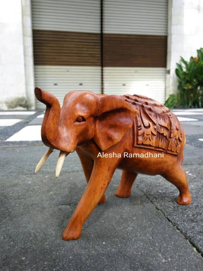 harga Patung gajah kayu Tokopedia.com