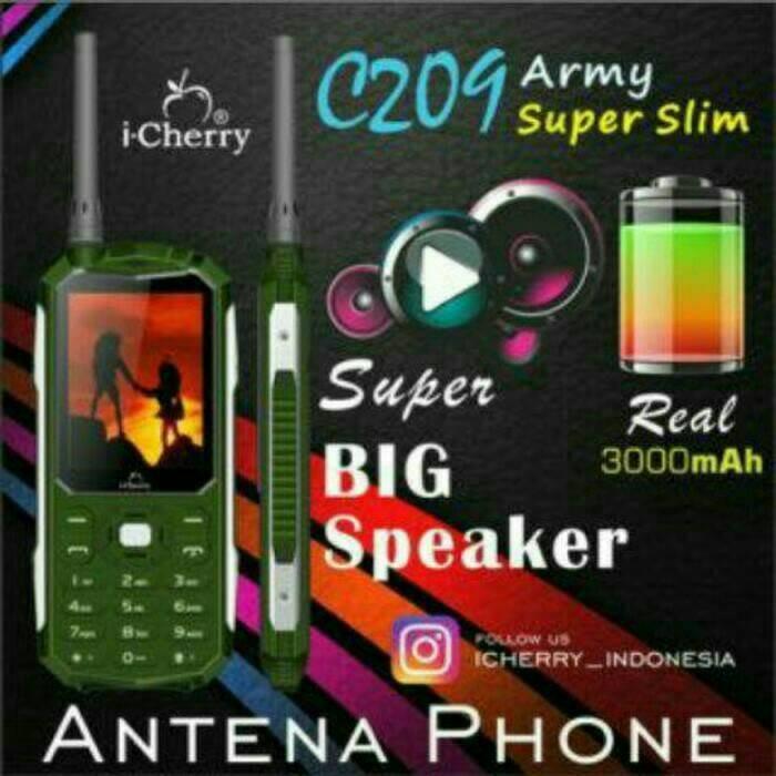 Icherry i cherry c209 c 209 super slim hp ponsel outdoor murah ...