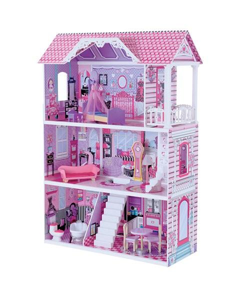 mainan rumah boneka barbie berbi kayu berkualitas tinggi england wood 2adc39d582