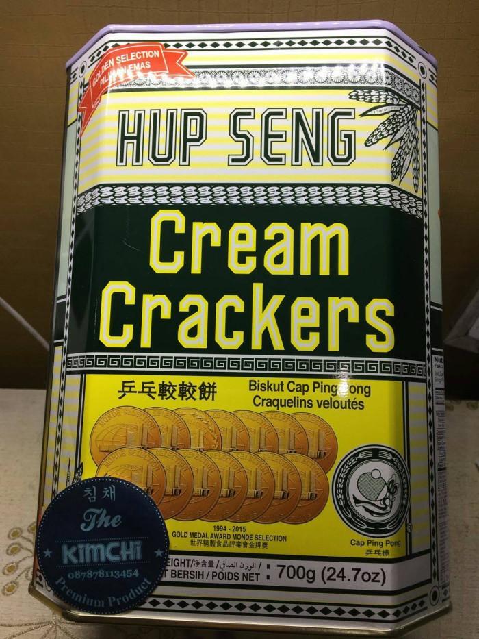 harga Hup Seng Cream Crakers Kaleng 700g Tokopedia.com