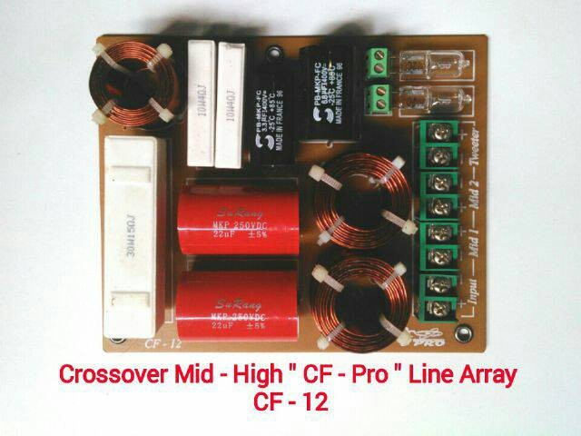 harga Crossover cf pro double mid + high line array system Tokopedia.com