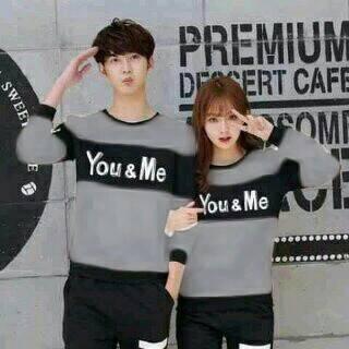 Baju Couple Jaket Couple Sweater Couple You Me .