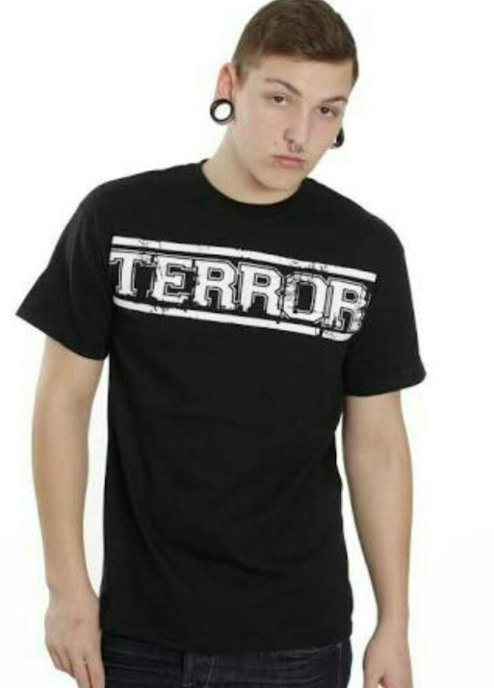 harga Kaos terror/musik hardcore/tshirt/t-shirt Tokopedia.com