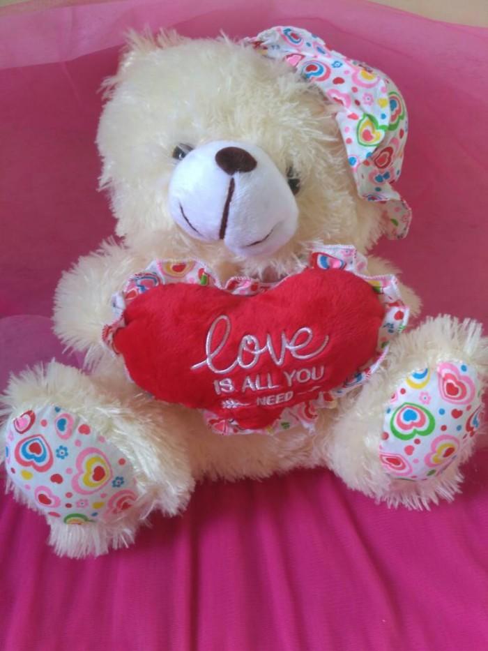harga Boneka teddy bear topi Tokopedia.com