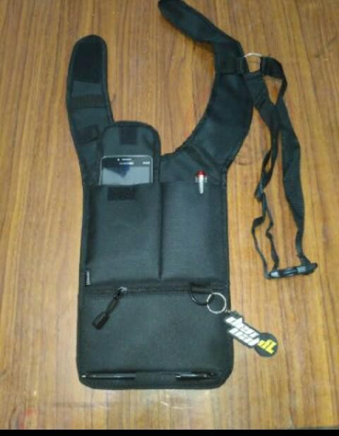 Tas gadget pundak bahu army polisi FBI agen 007 (smartphone)