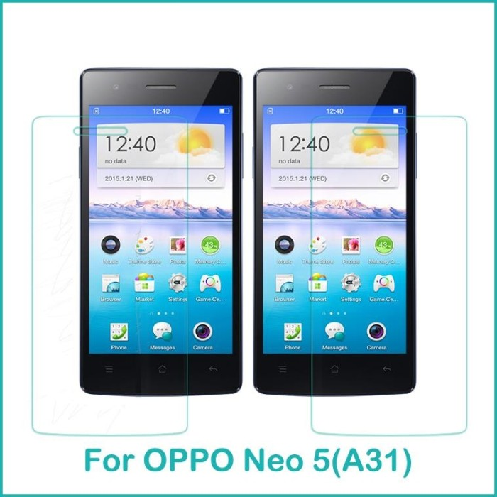 harga Tempered glass oppo neo 5 / r1201 (screen protector antigores) Tokopedia.com