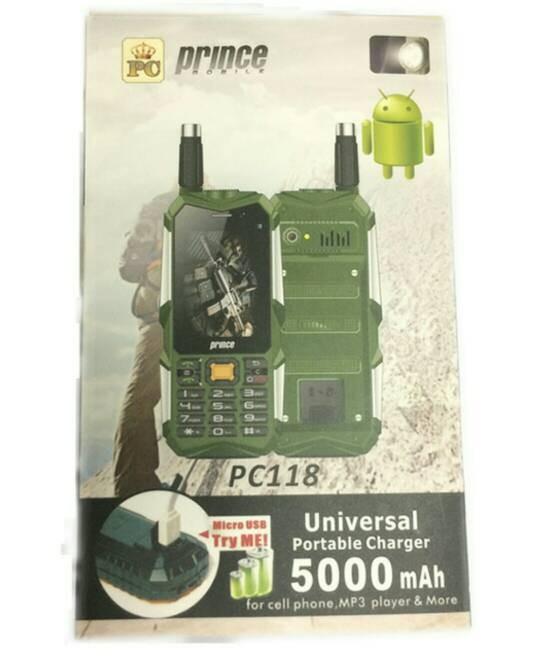 Prince PC118 Hp Unik + Powerbank